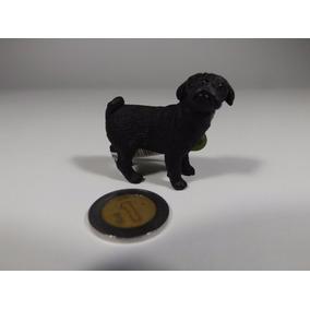 Figura Schleich Bonito Perro Pug Adulto Hembra, Negro