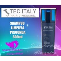 Tec Italy Shampoo Profondo 300ml Shampoo Limpieza Profunda