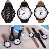 Relógio Barato Feminino Yazole Colorido Kit Com 2 Unidades