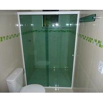 Box P/ Banheiro - Vidro Cristal Incolor 8mm Temperado