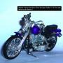 Motos Harley Davidson Y Yamaha Metálicas Maisto 1/18 Usadas