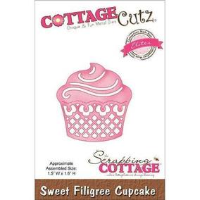 Troqueladora Cupcake Filigrana Cottage Cutz