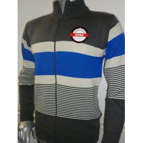 Sweater Campera Tejida De Hombre .talles M.l.xl