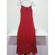Vestido Vermelho Regata