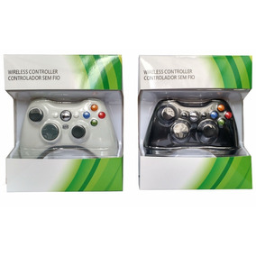 Controle Xbox 360 Sem Fio Wireless - Valor Da Unidade Preto