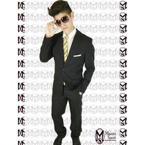 Promo # Ambo Entallado C/pant.chupìn+camisa+corbata Fina