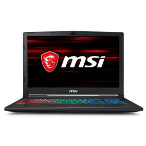 Portátil Gamer Msi Gp63 Leopard 8re Core I7 8va 8gb Ssd 128g
