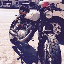 Cafe Racer Brat Style Honda Cg 150