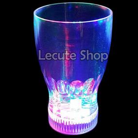 Vasos Luminoso Led Luz Multicolor Fiesta Eventos Neon Pequeñ