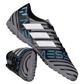 Chuteira adidas Nemeziz Messi 17.4 Tf Society Cinza por Futfanatics 49a84095b3e00