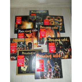Lote Running Wild - 9 Cds Digipack Remaster (alemães Lacrado