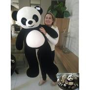 Urso Panda Grande Pelúcia Gigante 1,20 Mt Presente Namorada