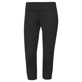 Calza Legging adidas D2m 3/4 Para Dama Running