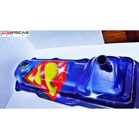 Tampa De Valvula Motor Ap Grafitada Super Man Promoção !!