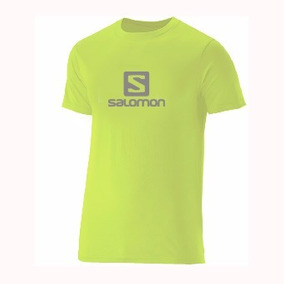 Remera Salomon Logo Yuzu Yell Ultimas:s-m-l-xl 15346