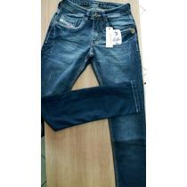 Calça Jeans Masculina Diesel Skinny Com Lycra Ref 906