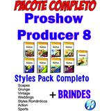 Proshow Producer 8 - Completo + Brindes = Envio Online