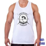 Camiseta Regata World Billards Fitness Academia Malhação Gym