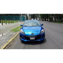 Mazda Speed 3 Motor 2.5 Litros 2012 Azul Sky 4 Puertas