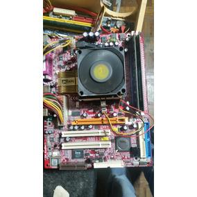 Kit Placa M861+processador Sempron 2600+ Memória 2x256 Ddr