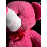 Oso De Peluche Gigante 2m Rosa Dior + Corazón Pers. + Envió.