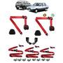 Cinto De Segurança Fiat Uno 1.5r Vermelho Jogo Completo S