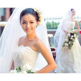 Vestido De Novia Nuevo Corte A Talla 10 Color Ivory $3289.00