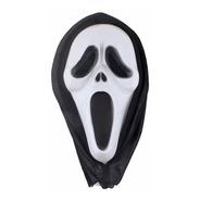 Mascara Careta Scream Halloween Disfraz Cotillon Plastica