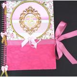 Caderno De Assinatura Personalizado Casamento + Brinde
