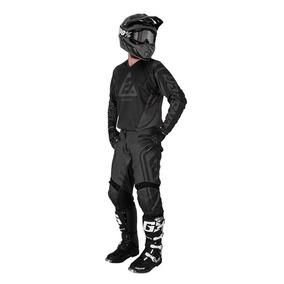 Kit Answer Syncron Drift Jersey Pantalón Negro Moto 30 M