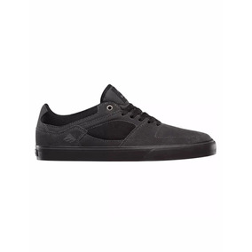 Zapatillas Emerica The Hsu Low Vulc Black Grey Ea071103