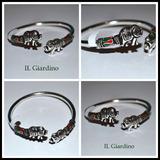 Pulsera Tailanda Plata 925 Luna Il Giardino Little Treasure