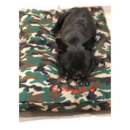 Colchón Cama Para Perros Lavable Cordura Camuflado (medium)
