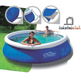 Piscina Inflable Instand Up Area 3,6 Mts Altura 76cm Ecology