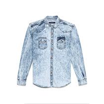 Camisa Hombre Airborn Batik Blue