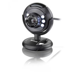 Webcam Com Led E Microfone Night Vision 16.0mb Interpolados