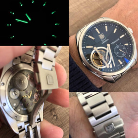 22726a406d0 Rel gio Tag Heuer Pendulum Corda ( R plica ) Masculino - Relógios ...