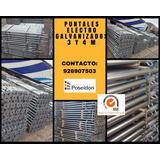 Puntales Metalicos Electro Galvanizados 3mt Inc.igv