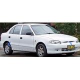 Manual Taller Servicio Hyundai Accent 1995-2006 Español!!!