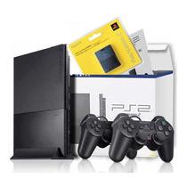 Ps2 Playstation 2 Slim Destravado + Memory + Jogo Original