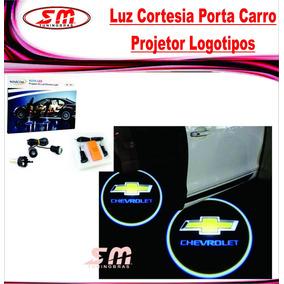 Luz De Cortesia Projetor Logomarca Chevrolet Corsa Celta S10