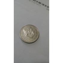 Moneda De Un Peso Plata Morelos Cacheton 1947