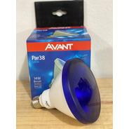 Lampada Led Par 38 14w Biv Azul E27 Avant