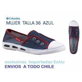 Zapatillas Columbia Exclusivas Mujer Verano Lona
