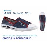 Zapatillas Mujer Columbia Exclusivas Verano Lona