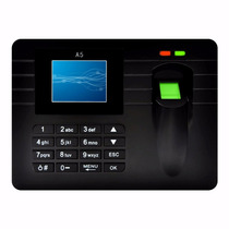 Control De Asistencia A5 Huella Biometrico Control Personal