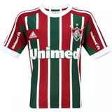 Camiseta adidas Fluminense I Infantil Junior Kids 1magnus