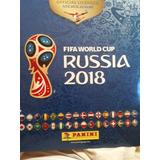 Albun De Mundial Rusia 2018 Tapa Dura + 679 Figuras Pegadas.