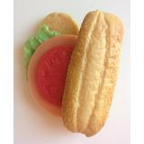 Sandwich De Juguete De Hule Reliquia Comidita Para Jugar