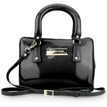 Bolsa Petite Jolie Mini Bag Pj1241 Preto Rock